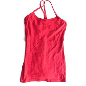 Lululemon Power Y tank true red racerback top